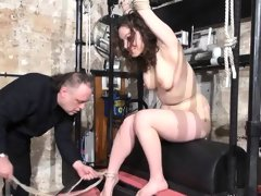 Kinky beauvoir enslaved and tied up