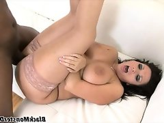 Chubby milf vannah sterling gets a black cock