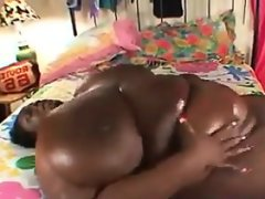 Big black titty fucking