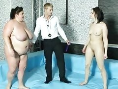 Semifinal of bbw fight club with viktoria and..