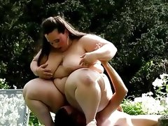 Gorgeous bbw domme jitka smothering face