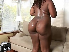 Skyy black big assed ebony anal slut for white..