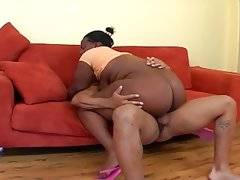 Bbw ebony getting fuck hard