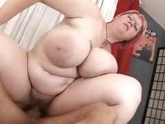 Bbw with big tits fucked
