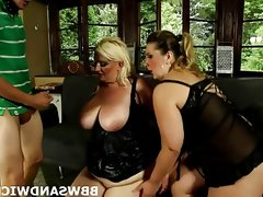 Bbw threesome femdom sex with bbw mistresses..