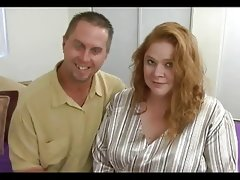 Big titted bbw redhead roze gets her fat quim..