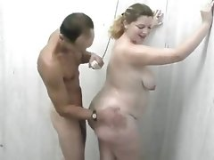 Bbw shower fun