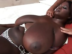 Bbw giant ebony tits poolboy massage