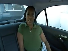 Backseat ebony bbw
