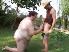 Tall mature ssbbw fucked outside hard