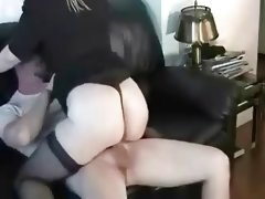 Amateur bbw wife gets creampie