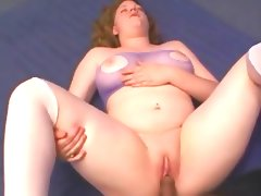 Great bbw firts time anal