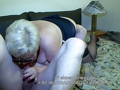Granny and hubby fucking