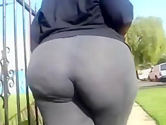 Walking with my bbw jailah