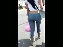 Bbw caminando sexy grandes nalgas big butt walking