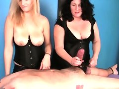 Femdom masseuses cbt tied down client