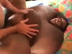 Black bbw getting pounded