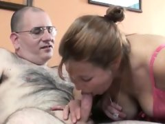 Mature slut liisa is getting fucked hard by a geek